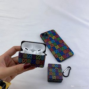 Suitable for AirPods 1-2   por wireless Bluetooth headset storage box, colorful candy suitcase style, shockproof and shockproof.