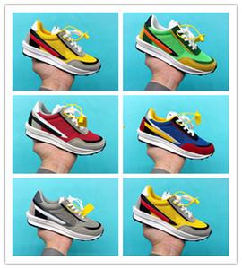 Barato 2020 infante Huarache los zapatos corrientes de los niños del niño huaraches Triple Blanco y Negro Deportes Niños Gilirs Entrenadores zapatillas de deporte size24-35