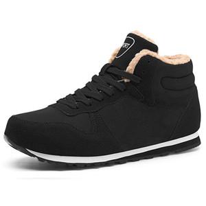 Men Boots Plus Size Winter Shoes Men Plush Super Warm Boots Men Ankle Botas Hombre Lovers Casual Comfortable Flock Male Botas