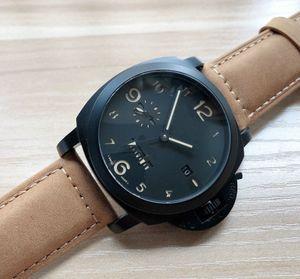 الساعات بام الأزياء 2020 الرجال بيع ساخنة جديدة في الساعات براون الساعات حزام من الجلد للرجال