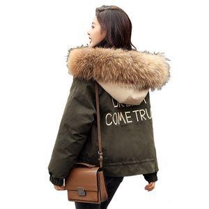 2019 Женская мода зима Jacke женщина пальто зимы Pure Salad Zipper Cap пальто хлопка с 2-х цветов