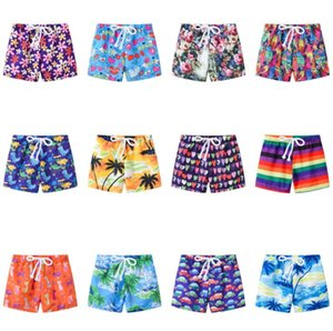 13 styles Children summer print shorts kids baby girl cartoon striped car pattern beach pants children clothes boutique