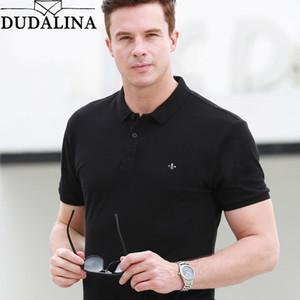 Dudalina Markenhemd Herren Hochwertige neue Polo Shirts Business Herrenbekleidung Stickerei Homme SH190718