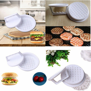 Hot Plastic Burger Press Hamburger Meat Beef Grill Cooking Maker Kitchen Mold