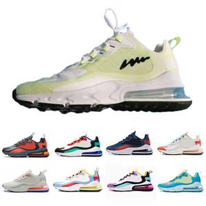 Nike air max 270 react shoes My Feels Nero Blu Grigio Void AIR sogno brillante capsula Violet uomini delle donne Pattini correnti formazione sportiva Mens Trainers Scarpe Sneakers