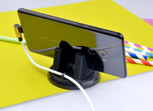 Support de téléphone universel pour voiture Ornement 360 degrés de rotation PC + Silicone Accessoire de voiture tableau de bord Décoration pour GPS titulaire Téléphone
