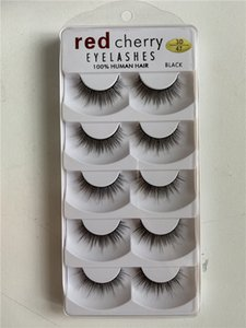 2020 New Red Cherry Lashes 5 pairs lot 10 Styles Natural Long Professional Handmade natural thick 3D Eyelashes High quality