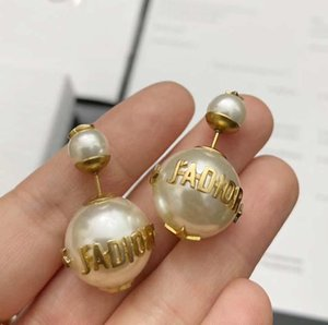 DE29 material paris design earring clip and agate ston in 1.6cm flower shape for women earring jewelry brand gift