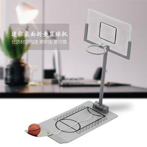 Mini bureau pliant joueur de basket-ball Creative Desktop Shooting Machine Mini cadeaux de décompression enfants cadeaux