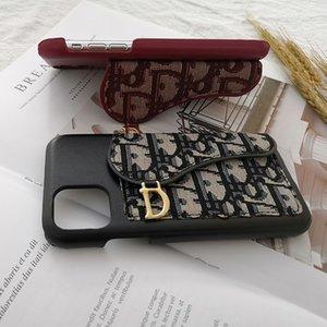 Designer-Handy Fall Luxus-Mode-Frauen iPhone Hüllen Marke Brief schwarz rot für Dame Telefonkästen 20062102CE gedruckt