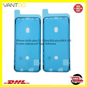 100% original Pre-Cut Waterproof Adhesive Tape Glue for iPhone 11 X 6 6s 7 8 5s Front Housing LCD Screen Frame Sticker DHL Free