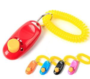 Pet Ferramenta Training Remote portátil cão de animal Clicker instrutor Sound Control Wrist Band Acessório SN4016