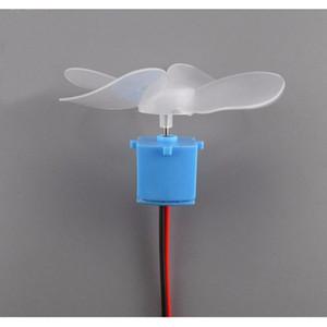 التوربينات البسيطة الرياح المياه العرض LED مولد تجميع لعبة مشروع أطقم