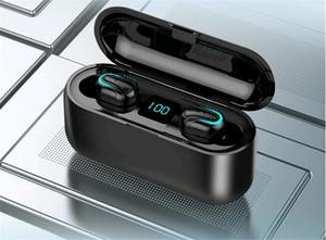 F9 G6 TWS 5.0 auricolari Bluetooth compresi altoparlante portatile stereo di HD senza fili delle cuffie, Noise Cancelling Gioco Sport Auricolare # OU708
