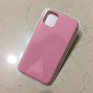 Cell Phone Case For iPhone 11 Pro Max liquid silicone mobile phone shell Apple 11 liquid silicone anti-fall cover soft shell applicable