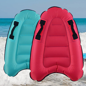 Outdoors Inflation Surfboard Adulto Niños portátiles Mar Surfing Aquaplane Seguridad Luz Popular Venta Bien ingenio Diferente Color 27gt J1