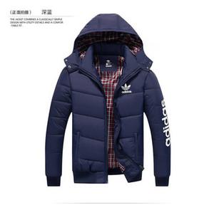 Вниз пальто Parka для мужчин куртки с Letters зимних пальто мужских курток конструктора классом люксом с капюшоном вниз пальто Верхней одеждой теплых курток Одежды