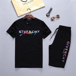 Erkek Yeni Marka Tasarımcı tişört Ve Pant Erkekler Pamuk Kısa Eşofman Kadınlar Yaz Suit Kısa Spor Suit 2pcs Seti s-3XL ayarlar