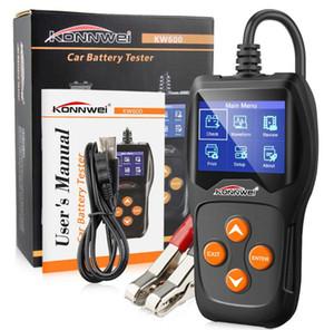 KONNWEI KW600 12V Auto-Batterie-Prüfvorrichtung-Detektor Analyzer bis zu 2000CCA SOH Cranking Alternator