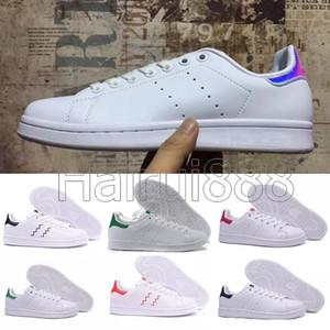 Stan Smith 2019 nuevas mujeres hombres zapatos de moda zapatillas de deporte stan smith zapatos planos de cuero zapatos casuales talla 36-45