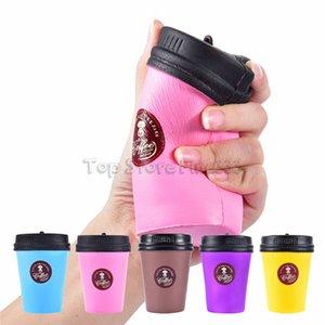 Promosyon Squishy Yavaş Yükselen Kahve Fincanı Squishe Antistres Jumbo Squisy Prank Stres Oyuncaklar Anti-stres Eğlenceli Sıkmak Renkli