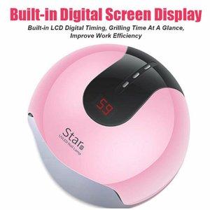Star8 36W УФ-лак для ногтей Лампа Сушилка с 12pcs светодиодный цифровой дисплей Гель польский Сушилка для маникюра Cure Machine Timer Art Tool
