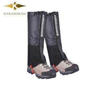 Randonnée Guêtres camping en plein air étanche Escalade Legging neige pour hommes et femmes Teekking Ski désert Bottes Chaussures Covers