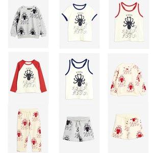 2020 Summer Children T-shirt Mini Brand Kids Short Sleeve Boy Alamer Octopus Casual Baby Girls Boys T Shirt Children Clothes