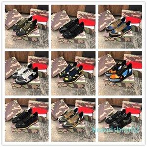 Качество 2019 дизайнерская роскошь мужские женские кроссовки Rockrunner Camoufalge Повседневная обувь со звездой des chaussures zapatos schuhe trainers d09