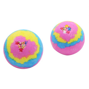 Rose del arco iris de baño bombas de bola, regalos Efervescente Spa Hidrata cumpleaños para las mujeres, Bath Bomb Regalos para ella Otros suministros de baño WC