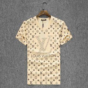 Италия Дизайнер Мужчины футболки с короткими рукавами Medusa Вышивка аппликация Хлопок футболки моды Harajuku Повседневный T Shirt Men тройники
