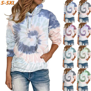 2020 brand fashion luxury designer women clothes hoodies autumn and winter women's loose printed hooded long-sleeved sweater