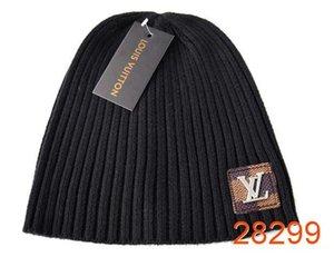 Yeni Moda kış bere erkekler serbest geminin 3225 yün şapka artı kap Skullies kalın maske Fringe beanies örme kaput tasarımcılar şapka mens
