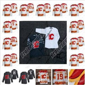 Calgary Flames 2020 All-Star Jersey Matthew Tkachuk Sean Monahan Sam Bennett, Johnny Gaudreau Mikael Backlund Lanny McDonald