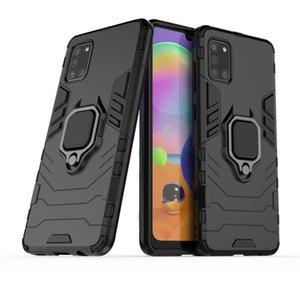 ShockProof 360 degrés de rotation Porte Anneau Béquille Armure Housse de protection pour Samsung Galaxy A71 A51 A31 A11 A41 M31 M21