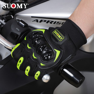 Motorcycle gloves Knight full finger shell shatter-resistant touch screen breathable off-road equipment four seasons universal riding gloves