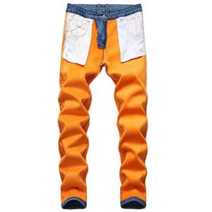 Demin Jeans per gli uomini inverno caldo Uomo Slim Jean diritto casuale addensare panno morbido della flanella Jean Elastic Jeans lavaggio Nuova Plus Size 42