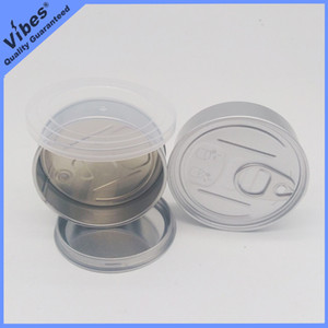 Boîte de 73,3 * 24mm Cali Pressitin pour l'étain sec de presse de bouton - Autocollants de saveur de roche de lune de garçons de jungle de garçons d'impression de Smartbud d'OEM