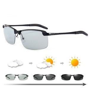 Photochrome Sonnenbrillen Herren Polarized Driving Chameleon Brillen Male Farbwechsel Sonnenbrillen Tag Nachtsicht Driving Eyewear