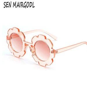 2020 Sun Flower Kids Sunglasses For Boys Girls Round Cute Uv400 Sun Glasses Children Toddler Lovely Baby Glasses Oculos De Sol FZfnc