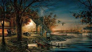 Terry Redlin esse tempo especial Home Decor pintado à mão HD impressão pintura a óleo sobre tela Wall Art Canvas Pictures 200316