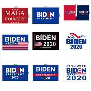 2020 BIDEN Drapeau Élection JOE 90x150cm Drapeau élection présidentielle américaine Biden Jardin Élection Bannière Trump Drapeau ZZA2189 20Pcs