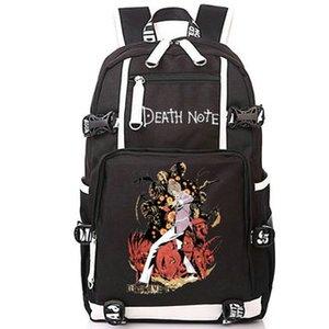 Yagami Light рюкзак смертью ноты мультфильм дневной пакет убийца аниме школа сумка печать пакета компьютер rucksack спортивный школьный пакет на открытом воздухе