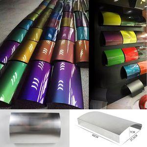 알루미늄 자동차 속도 모양 랩 비닐 필름 표시 색상 곡선 디스플레이 패널의 경우 차량 랩 / 딥 페인트 표시 MO-A16