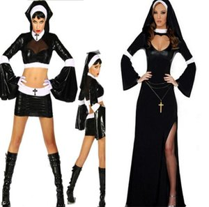 Halloween Sexy Nun Costume Ghost Festival Women Masquerade Ball Theme Costumes Classic Adult Costume Halloween Femme Lingeries