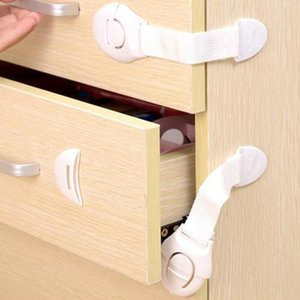 Child Lock Protection Locking Doors Children's Safety Kids Drawers Refrigerator Toilet Plastic Table-corner Protective
