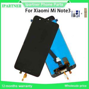 Pour Xiaomi Mi Note 3 Écran LCD + écran tactile Avec écran écran d'empreintes digitales Digitizer Assemblée pour Xiaomi Mi Note3 5,5 « »