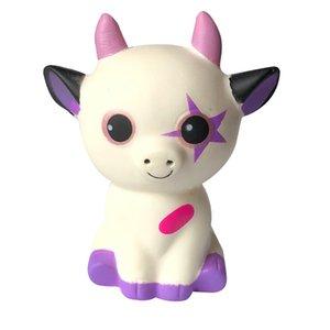Squishies Mignon Mignon corne de bœuf étoile Rhino animal Jouets drôle Rising Scented Stress Relief Toy Charm Cadeaux L108
