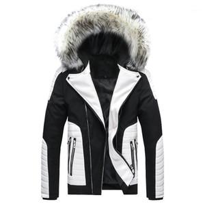Coats Warm Thick Windbreaker Hooded Fur Down Parkas Mens Designer Winter Hooded Down
