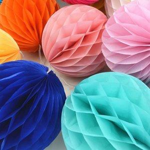 """Mix Tamanho 6"""" 8"""" 10"""" decorativa Flores da lanterna de papel do favo de mel Bolas para crianças Decoratio casamento aniversário favores do chá de fraldas"""